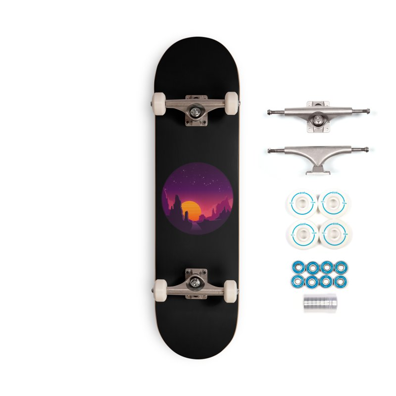 Desert Night Accessories Skateboard by ARTinfusion - Get your's now!