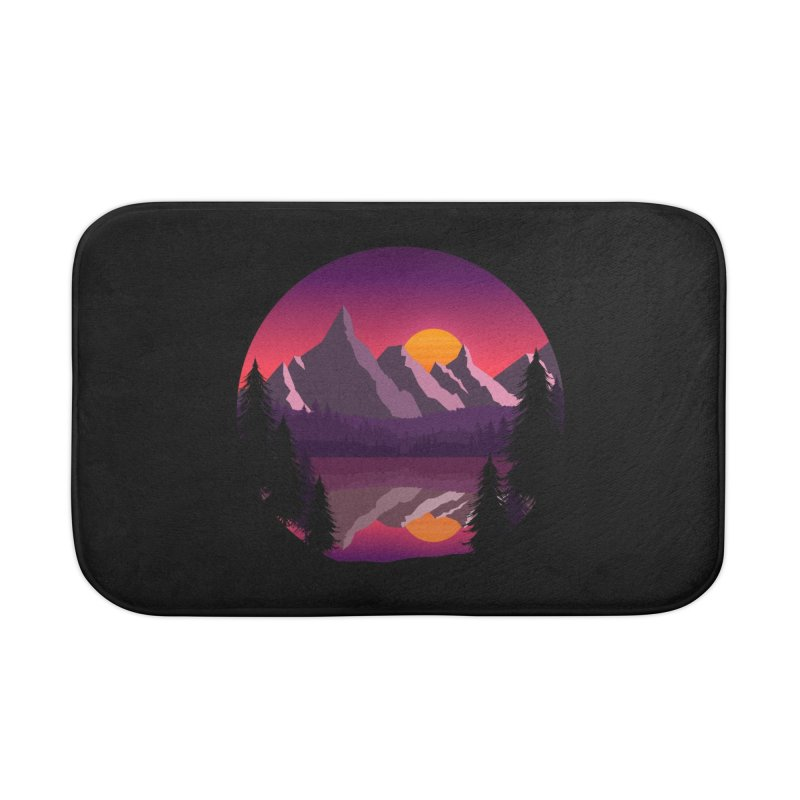 The Lake Adventure Home Bath Mat by ARTinfusion - Get your's now!