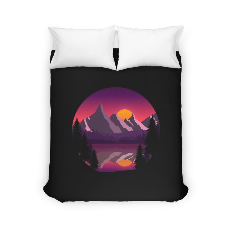 The Lake Adventure Home Duvet by ARTinfusion - Get your's now!