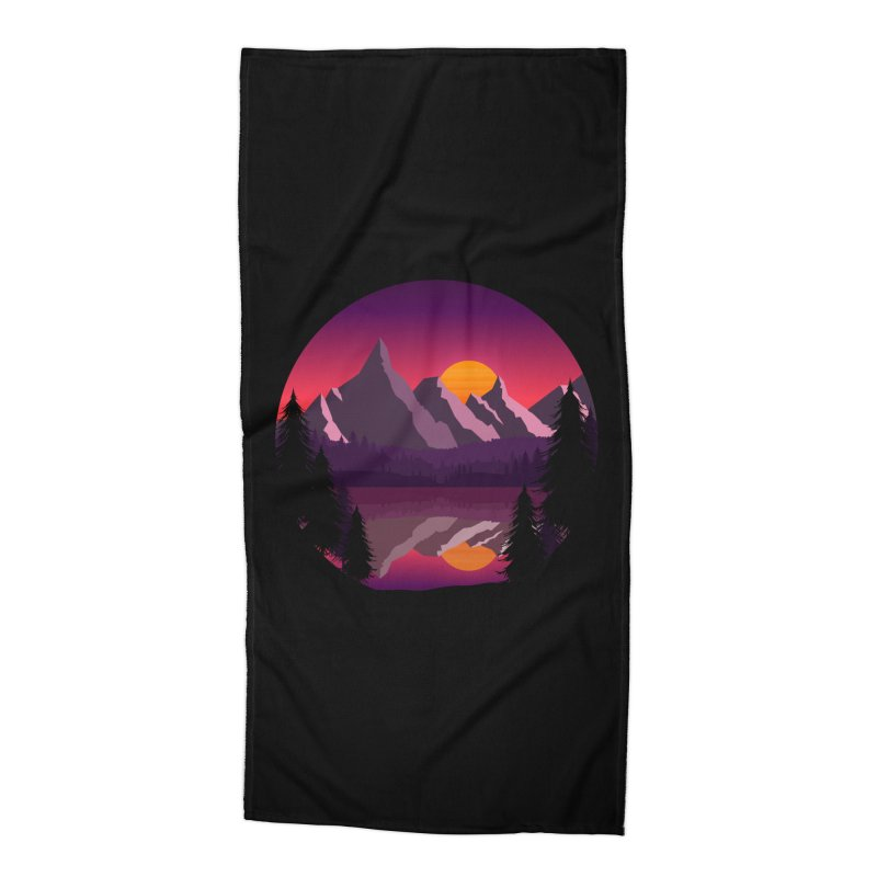The Lake Adventure Accessories Beach Towel by ARTinfusion - Get your's now!