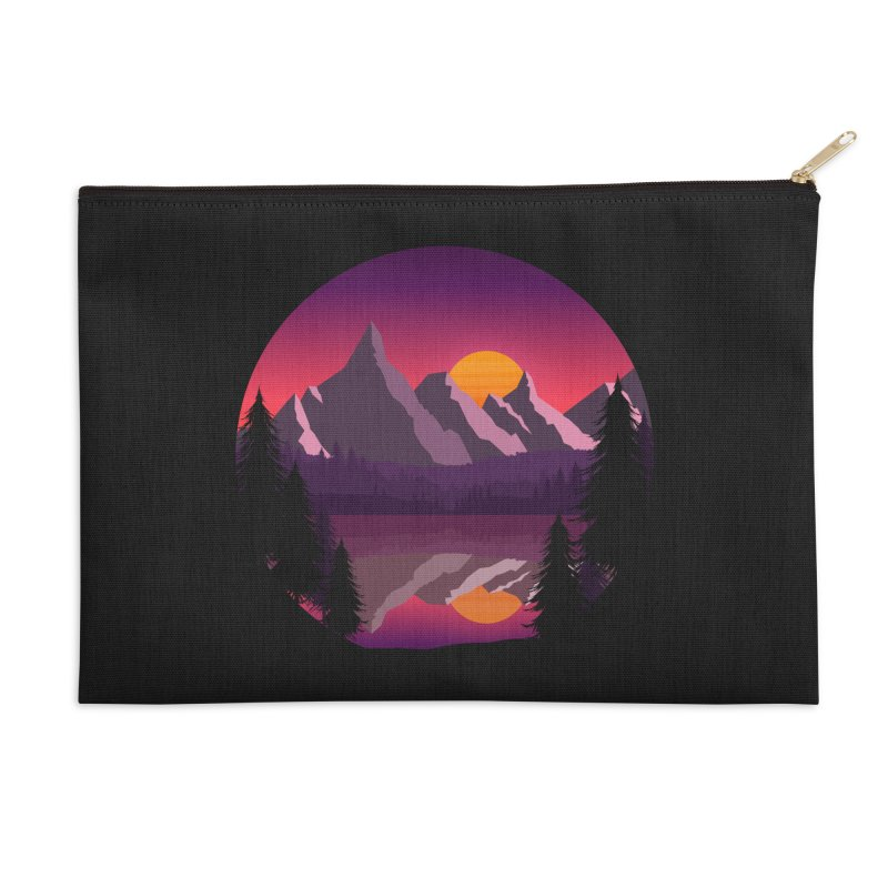 The Lake Adventure Accessories Zip Pouch by ARTinfusion - Get your's now!
