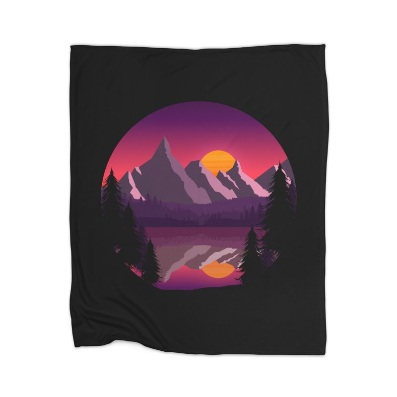 The Lake Adventure Home Blanket by ARTinfusion - Get your's now!