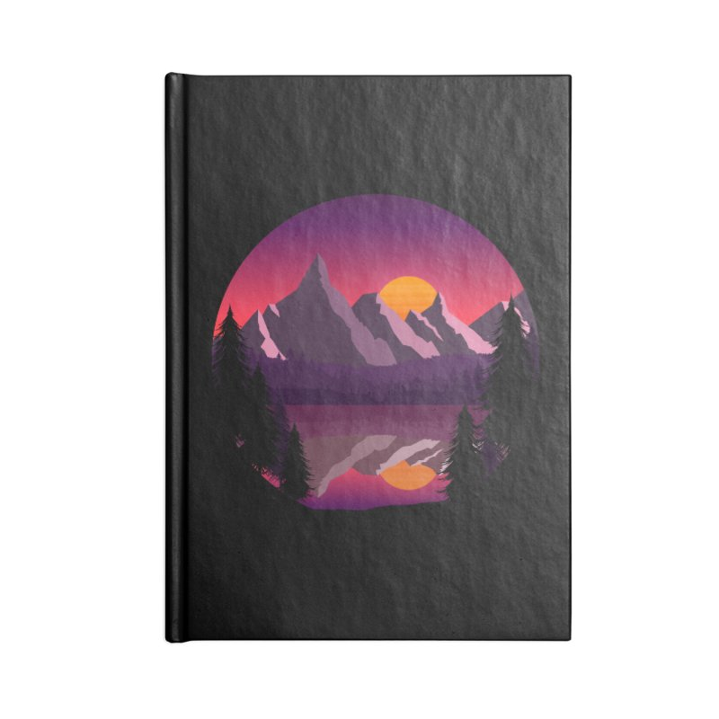 The Lake Adventure Accessories Notebook by ARTinfusion - Get your's now!