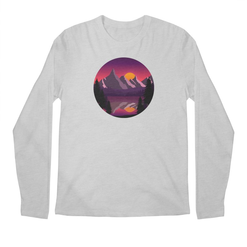 The Lake Adventure Men's Longsleeve T-Shirt by ARTinfusion - Get your's now!
