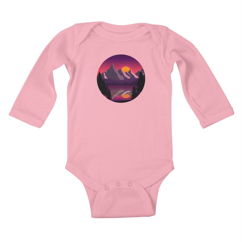 The Lake Adventure Kids Baby Longsleeve Bodysuit by ARTinfusion - Get your's now!