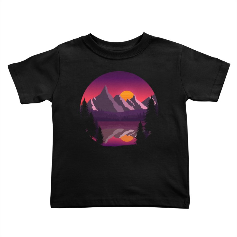 The Lake Adventure Kids Toddler T-Shirt by ARTinfusion - Get your's now!
