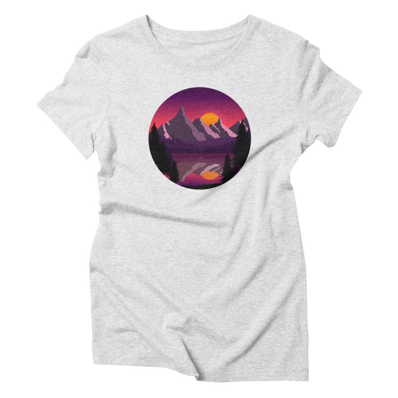 The Lake Adventure Women's T-Shirt by ARTinfusion - Get your's now!