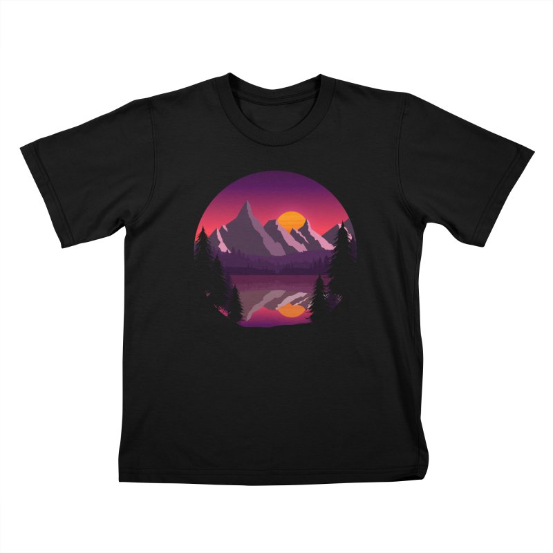 The Lake Adventure Kids T-Shirt by ARTinfusion - Get your's now!