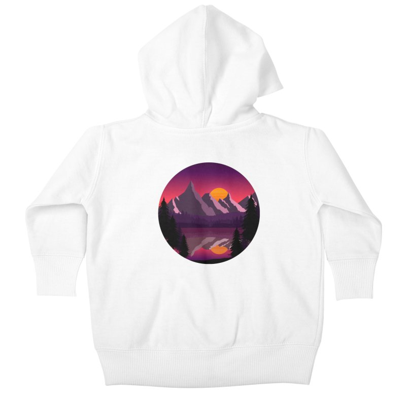 The Lake Adventure Kids Baby Zip-Up Hoody by ARTinfusion - Get your's now!