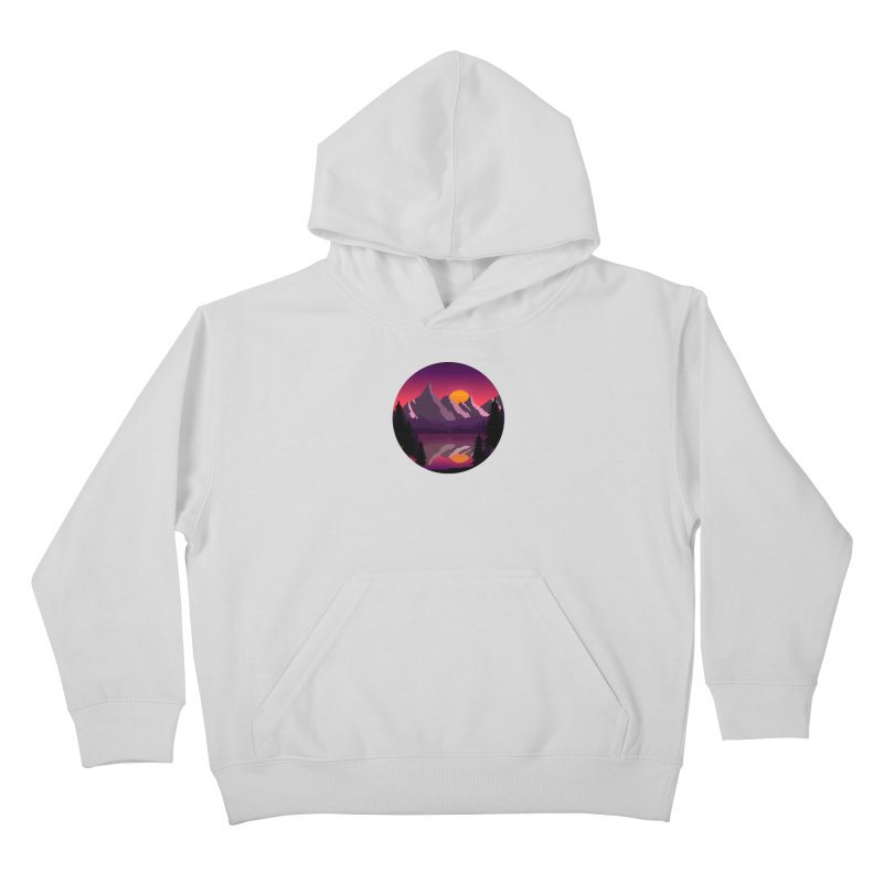 The Lake Adventure Kids Pullover Hoody by ARTinfusion - Get your's now!