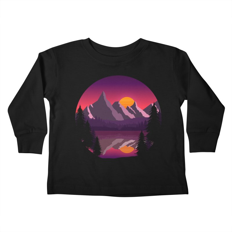 The Lake Adventure Kids Toddler Longsleeve T-Shirt by ARTinfusion - Get your's now!