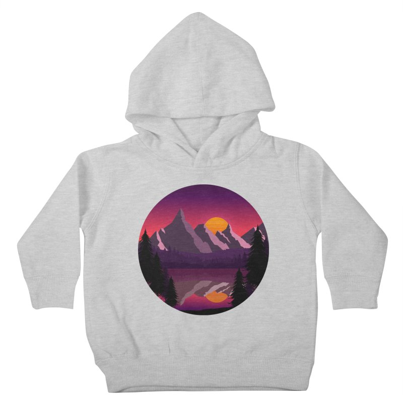 The Lake Adventure Kids Toddler Pullover Hoody by ARTinfusion - Get your's now!