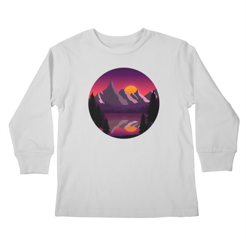 The Lake Adventure Kids Longsleeve T-Shirt by ARTinfusion - Get your's now!