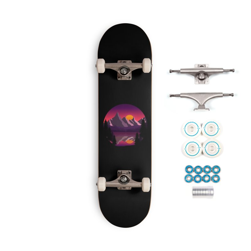 The Lake Adventure Accessories Skateboard by ARTinfusion - Get your's now!