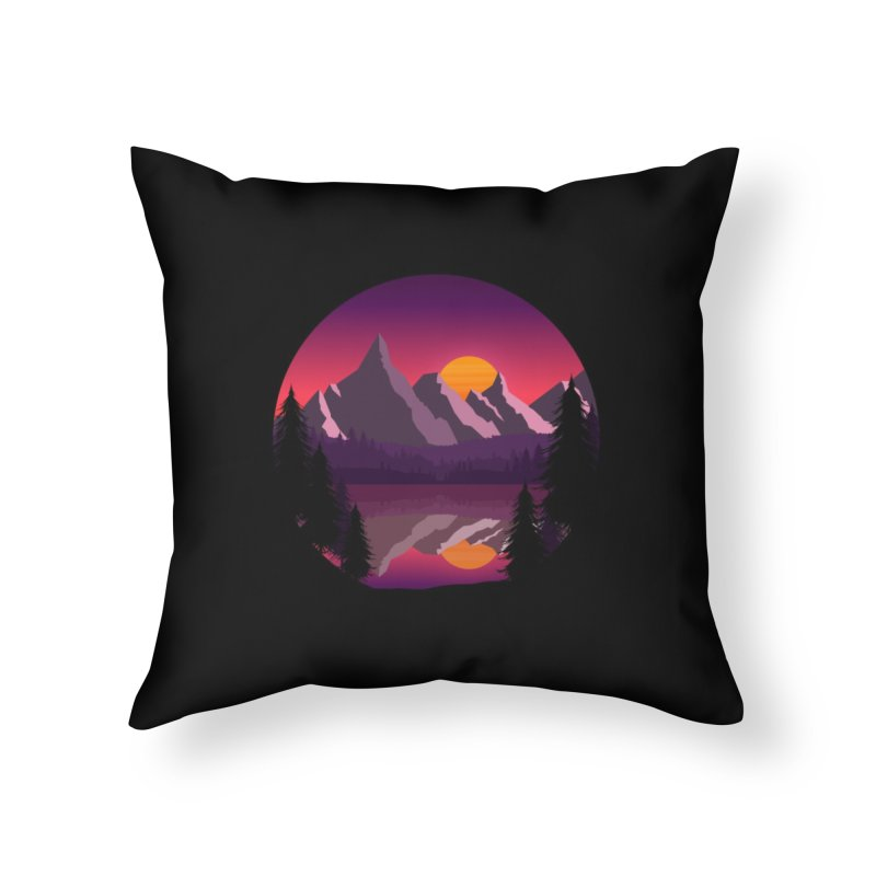 The Lake Adventure Home Throw Pillow by ARTinfusion - Get your's now!
