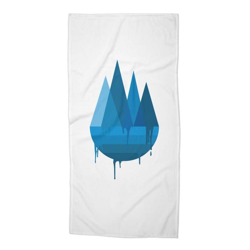 Dying Earth - The last drop - blue variant Accessories Beach Towel by ARTinfusion - Get your's now!