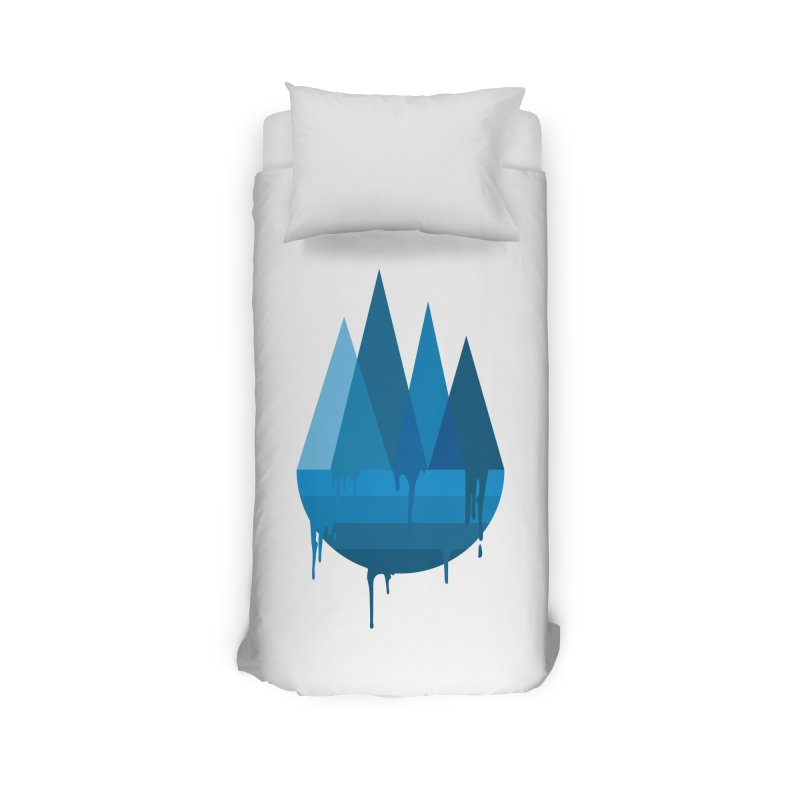 Dying Earth - The last drop - blue variant Home Duvet by ARTinfusion - Get your's now!