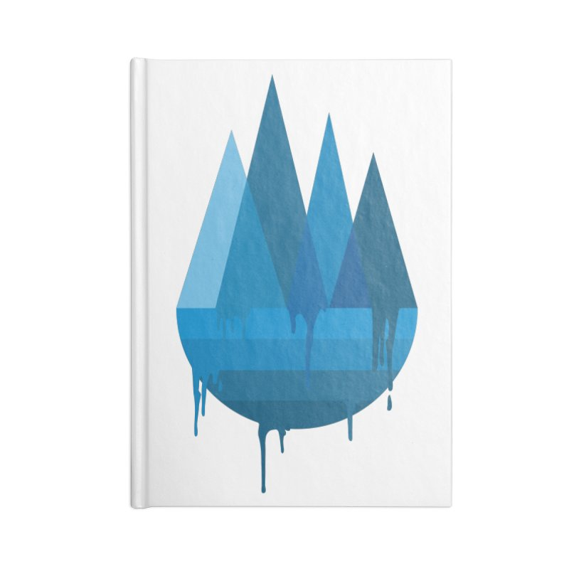 Dying Earth - The last drop - blue variant Accessories Notebook by ARTinfusion - Get your's now!