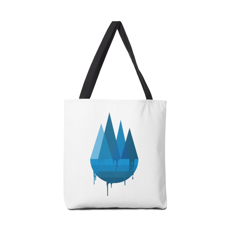 Dying Earth - The last drop - blue variant Accessories Bag by ARTinfusion - Get your's now!