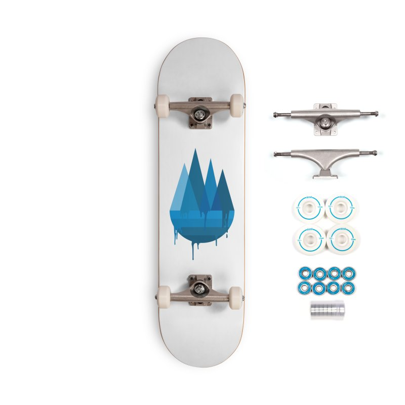 Dying Earth - The last drop - blue variant Accessories Skateboard by ARTinfusion - Get your's now!