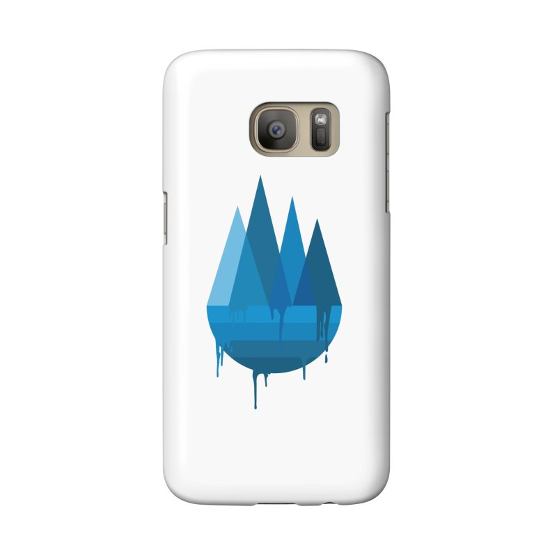 Dying Earth - The last drop - blue variant Accessories Phone Case by ARTinfusion - Get your's now!