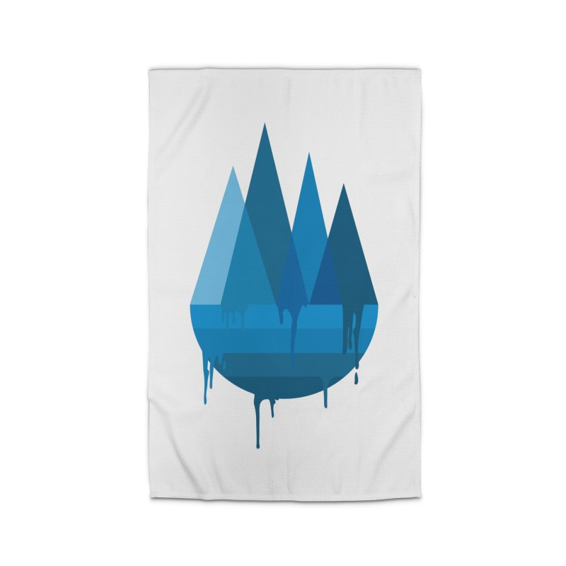 Dying Earth - The last drop - blue variant Home Rug by ARTinfusion - Get your's now!