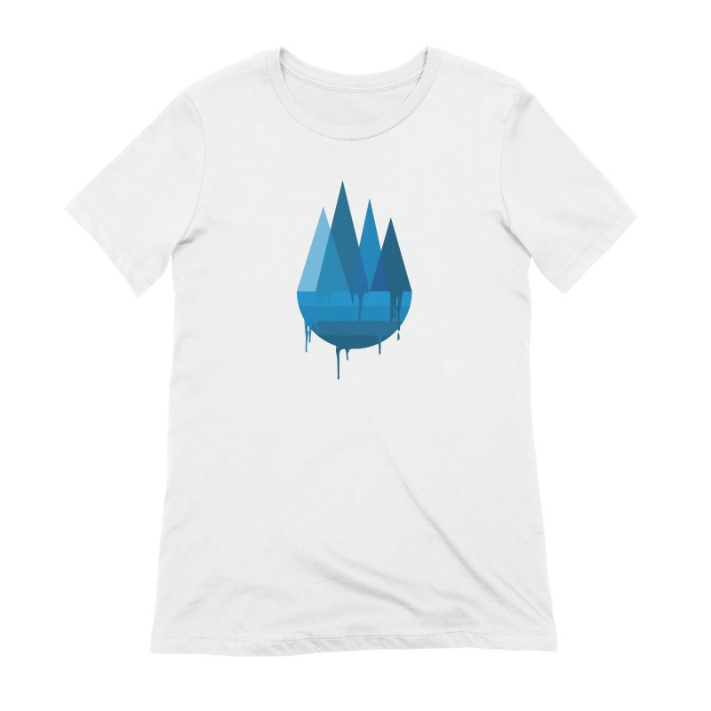 Dying Earth - The last drop - blue variant Women's T-Shirt by ARTinfusion - Get your's now!