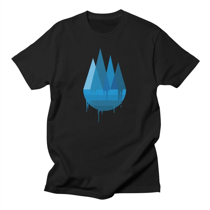 Dying Earth - The last drop - blue variant Men's T-Shirt by ARTinfusion - Get your's now!