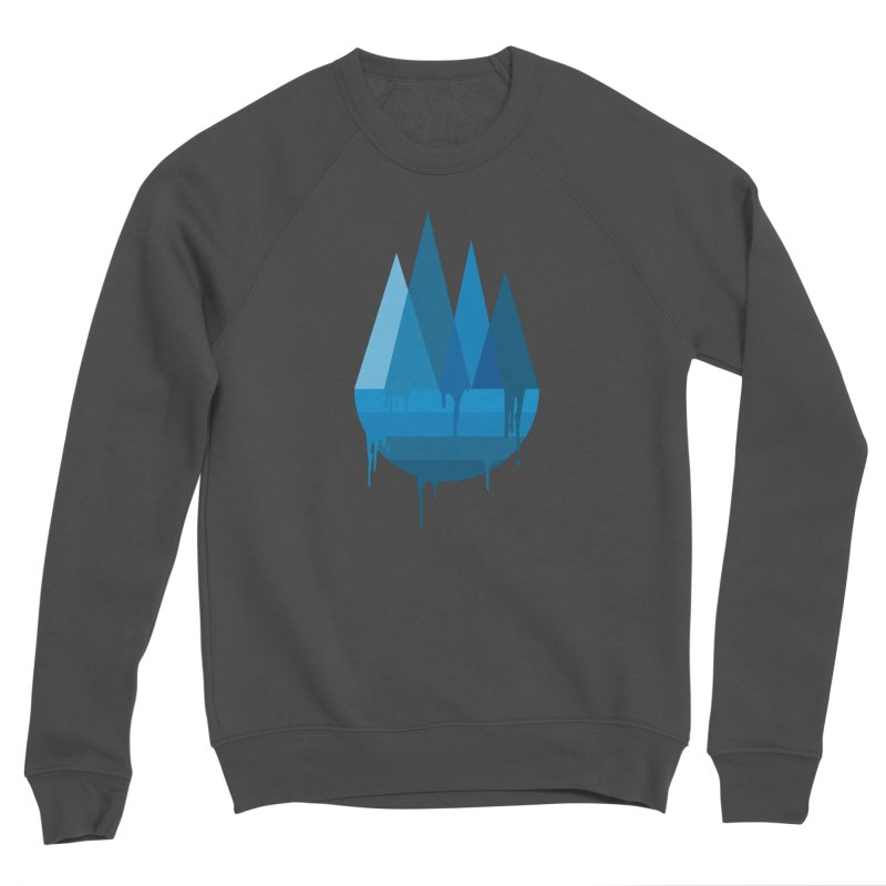 Dying Earth - The last drop - blue variant Men's Sweatshirt by ARTinfusion - Get your's now!