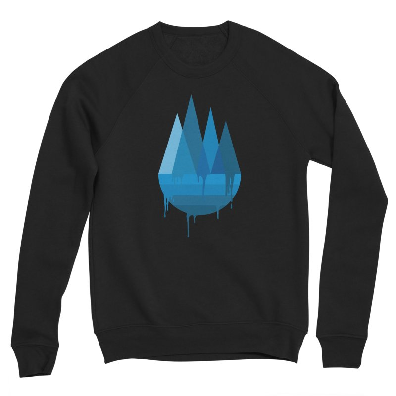 Dying Earth - The last drop - blue variant Women's Sweatshirt by ARTinfusion - Get your's now!