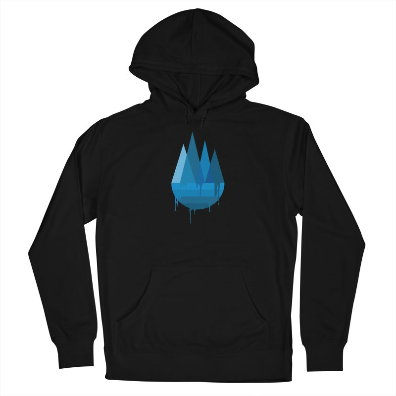 Dying Earth - The last drop - blue variant Men's Pullover Hoody by ARTinfusion - Get your's now!