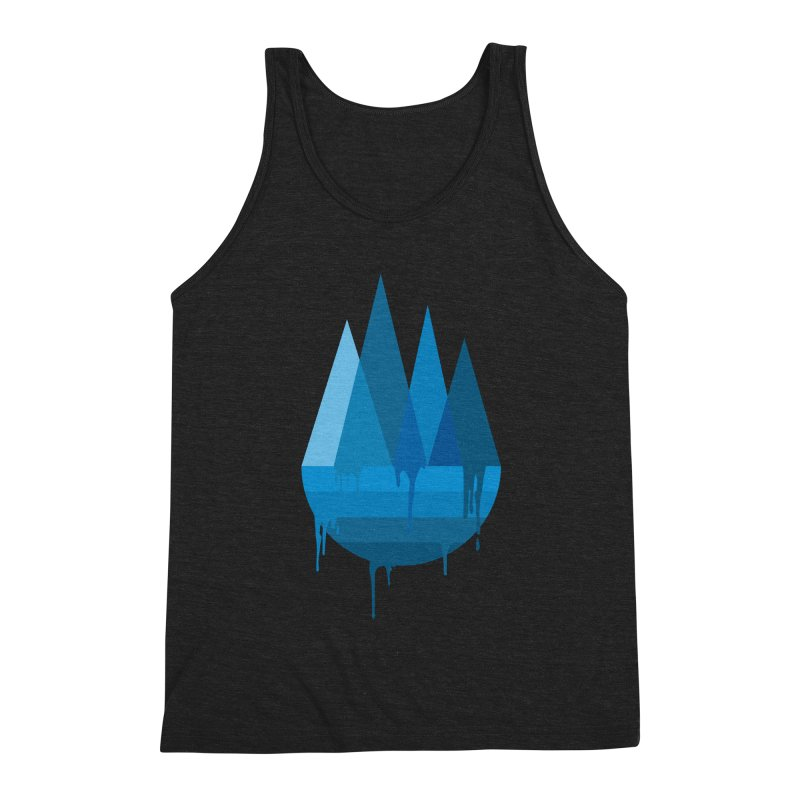 Dying Earth - The last drop - blue variant Men's Tank by ARTinfusion - Get your's now!