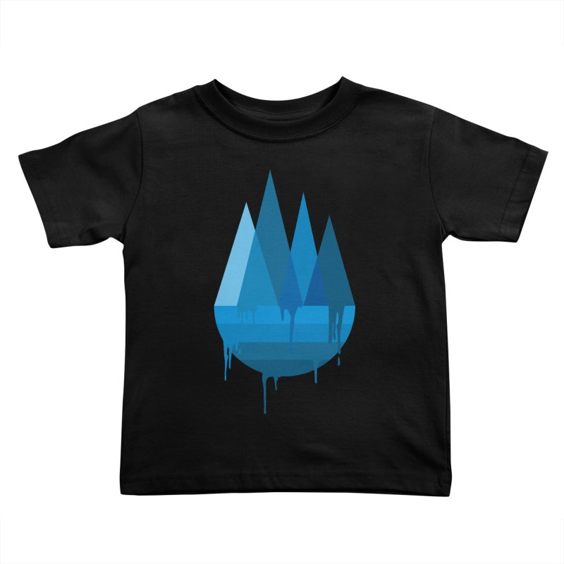 Dying Earth - The last drop - blue variant Kids Toddler T-Shirt by ARTinfusion - Get your's now!