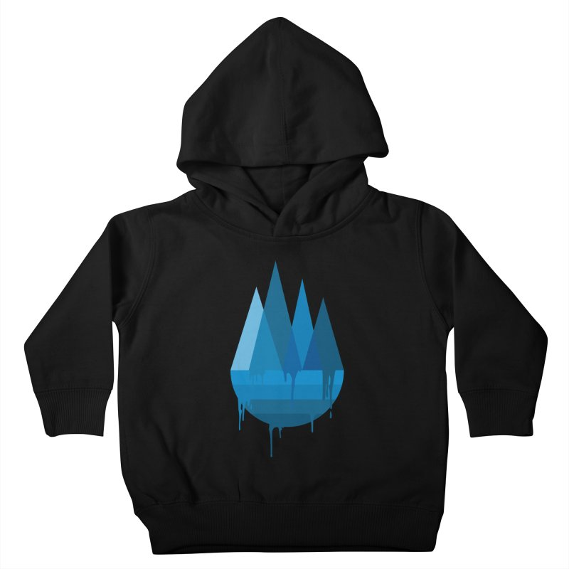 Dying Earth - The last drop - blue variant Kids Toddler Pullover Hoody by ARTinfusion - Get your's now!