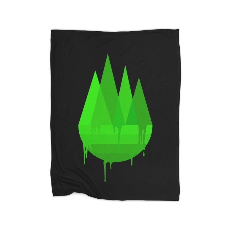 Dying Earth - The last drop - green variant Home Blanket by ARTinfusion - Get your's now!
