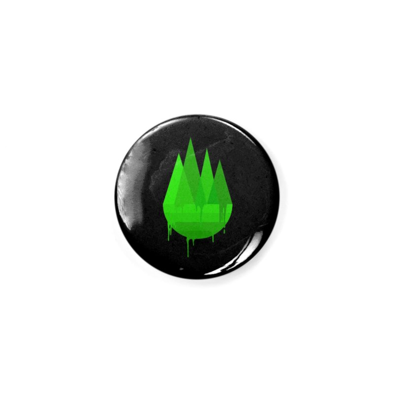 Dying Earth - The last drop - green variant Accessories Button by ARTinfusion - Get your's now!