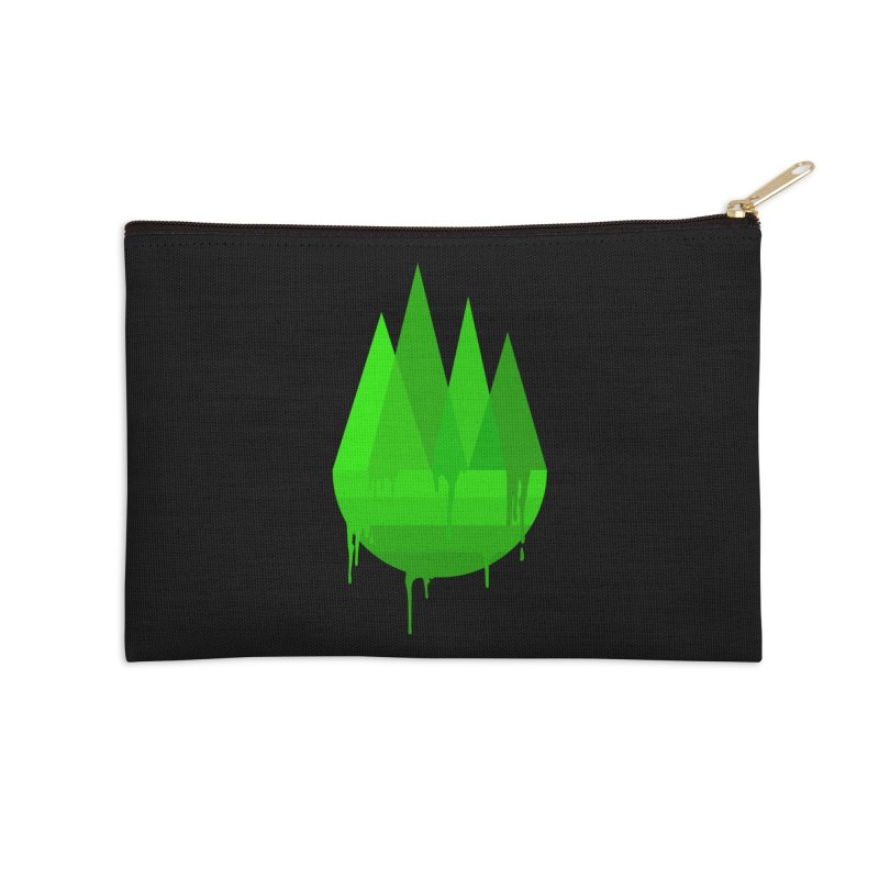 Dying Earth - The last drop - green variant Accessories Zip Pouch by ARTinfusion - Get your's now!