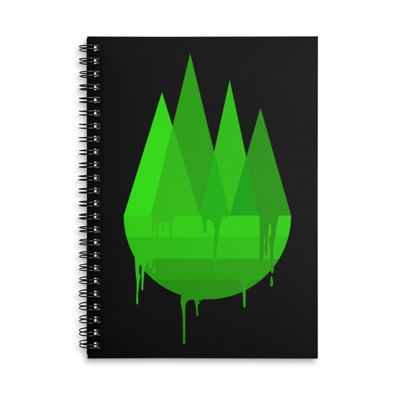 Dying Earth - The last drop - green variant Accessories Notebook by ARTinfusion - Get your's now!