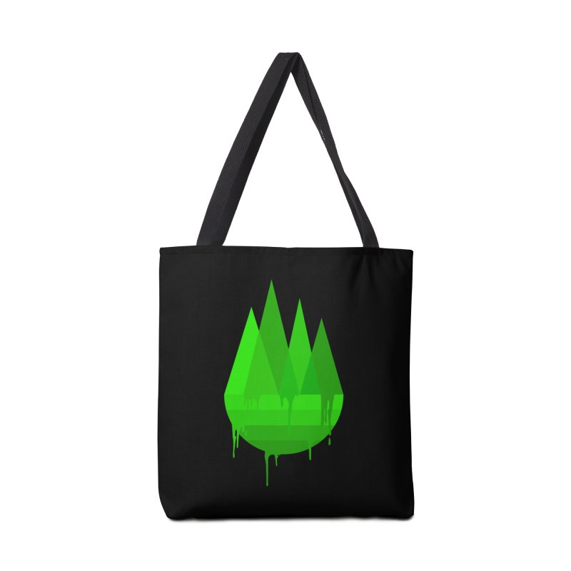 Dying Earth - The last drop - green variant Accessories Bag by ARTinfusion - Get your's now!