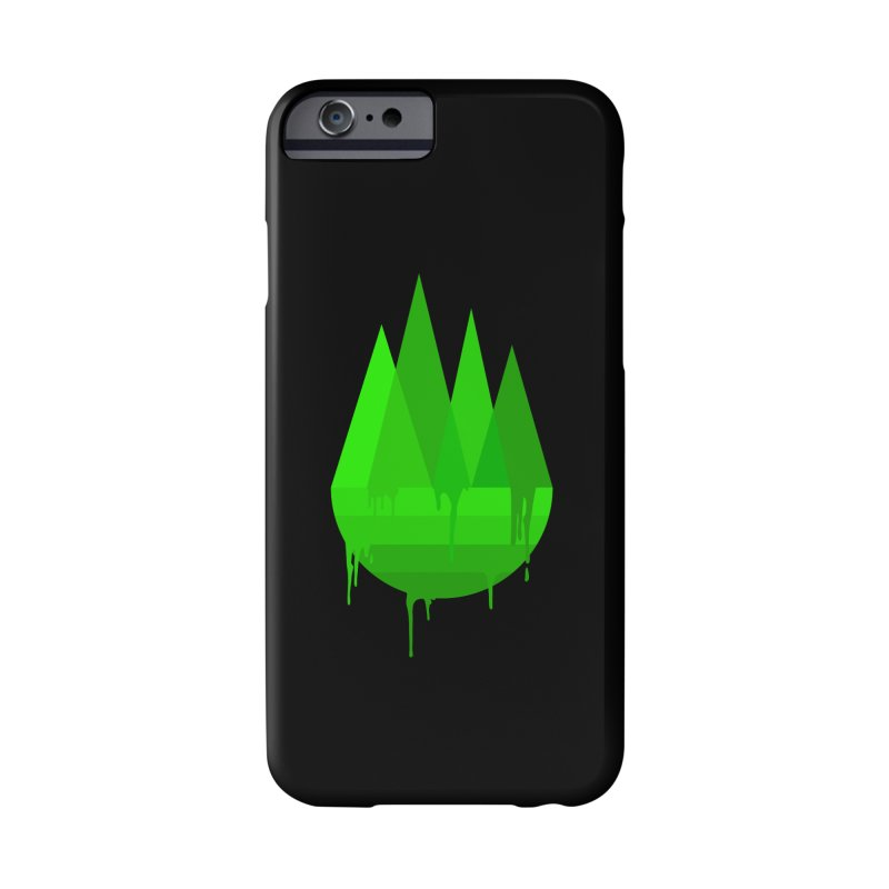Dying Earth - The last drop - green variant Accessories Phone Case by ARTinfusion - Get your's now!