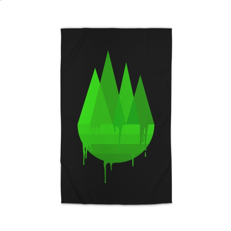 Dying Earth - The last drop - green variant Home Rug by ARTinfusion - Get your's now!