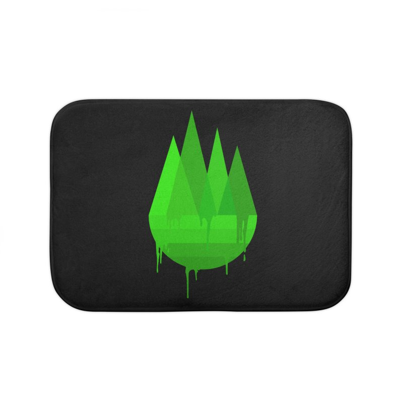 Dying Earth - The last drop - green variant Home Bath Mat by ARTinfusion - Get your's now!