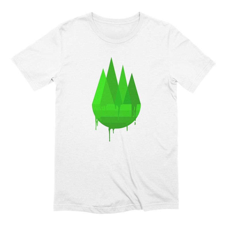 Dying Earth - The last drop - green variant Men's T-Shirt by ARTinfusion - Get your's now!