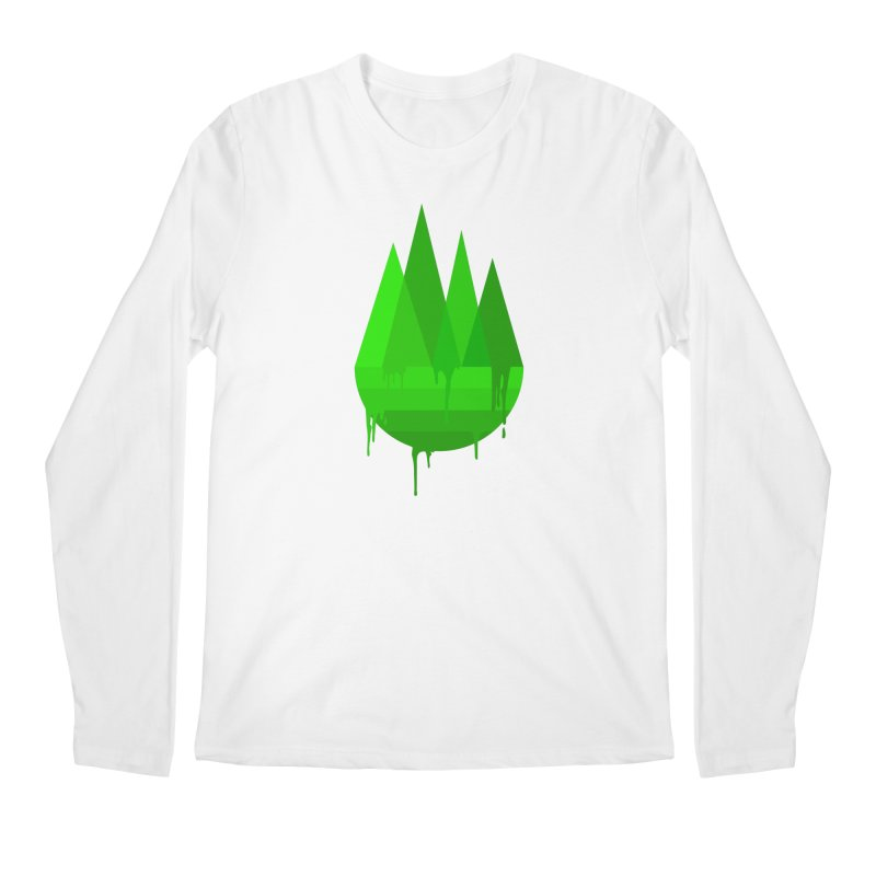 Dying Earth - The last drop - green variant Men's Longsleeve T-Shirt by ARTinfusion - Get your's now!