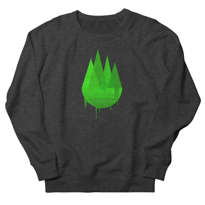 Dying Earth - The last drop - green variant Men's Sweatshirt by ARTinfusion - Get your's now!