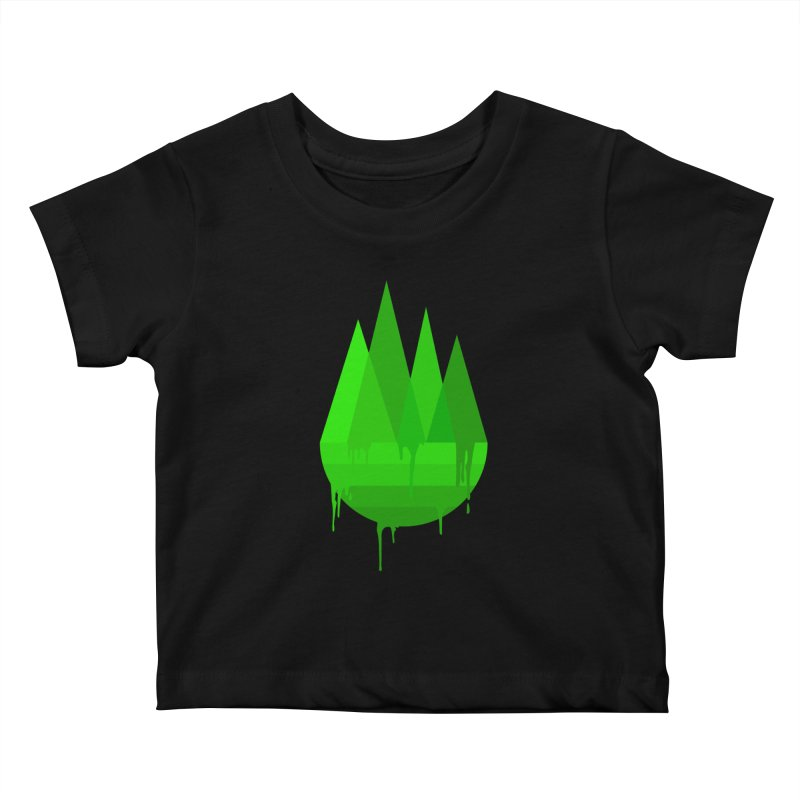 Dying Earth - The last drop - green variant Kids Baby T-Shirt by ARTinfusion - Get your's now!
