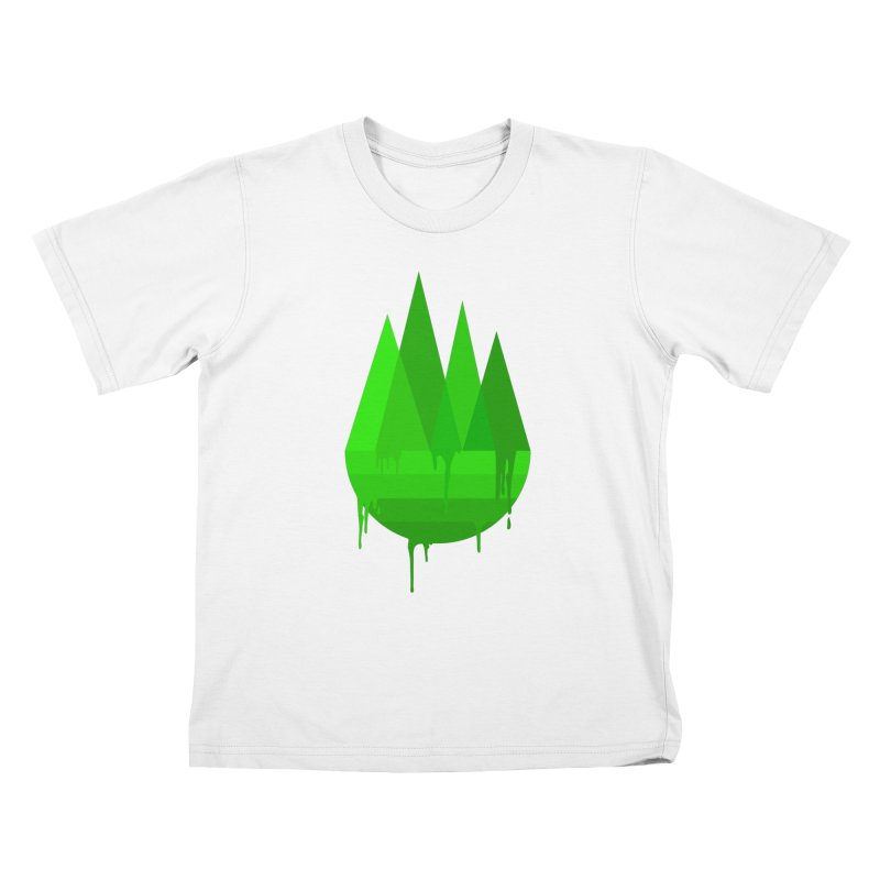Dying Earth - The last drop - green variant Kids T-Shirt by ARTinfusion - Get your's now!