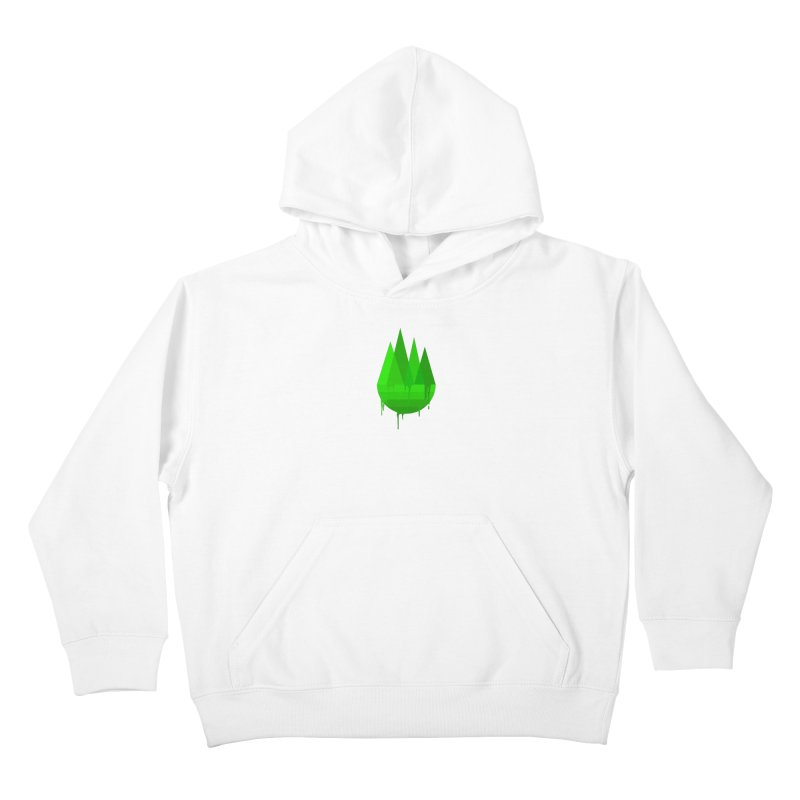Dying Earth - The last drop - green variant Kids Pullover Hoody by ARTinfusion - Get your's now!