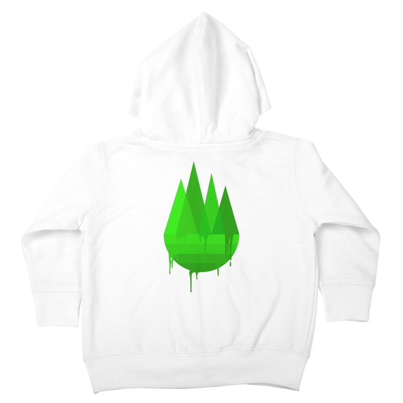 Dying Earth - The last drop - green variant Kids Toddler Zip-Up Hoody by ARTinfusion - Get your's now!