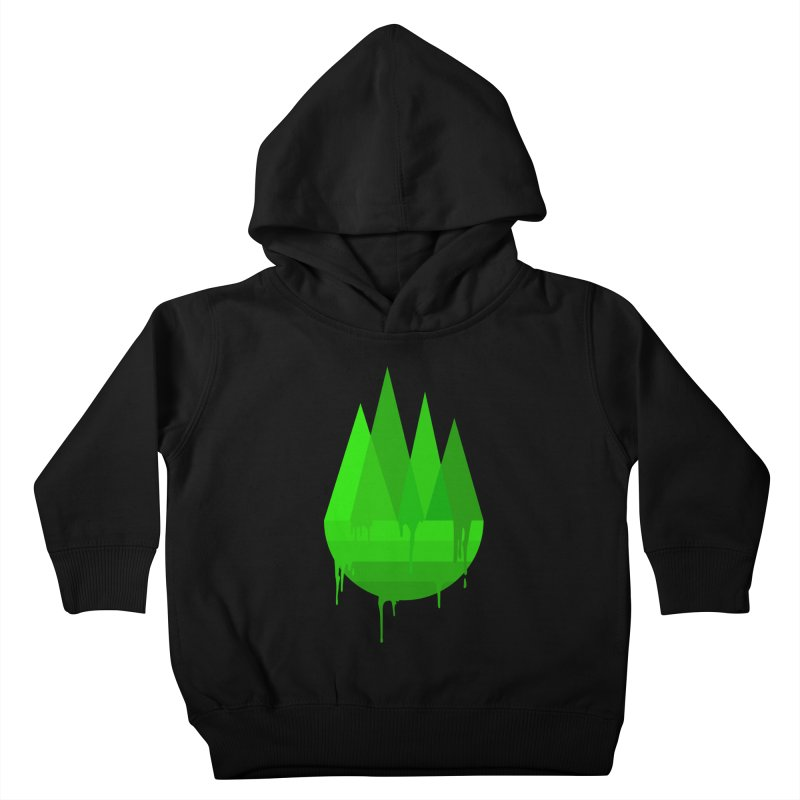 Dying Earth - The last drop - green variant Kids Toddler Pullover Hoody by ARTinfusion - Get your's now!